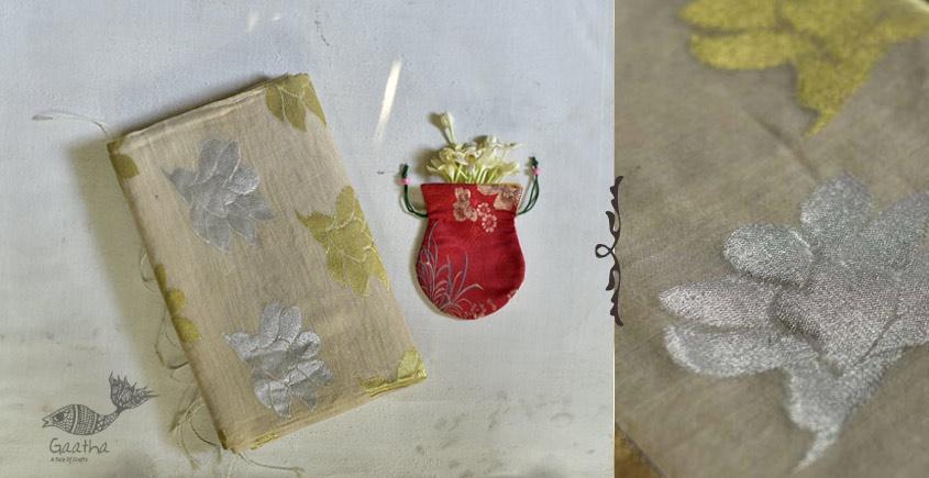 Indrani . इंद्राणी | Jacquard Hand loom Silk Zari Jamdani Saree ~ 11