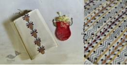 Indrani . इंद्राणी   Handloom Cotton Saree ~ Kantha work ~ 13