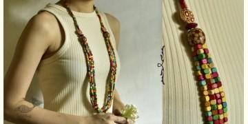 Indrani . इंद्राणी | Wooden Beads Necklace ~ 22