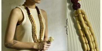 Indrani . इंद्राणी | Wooden Beads Necklace ~ 17