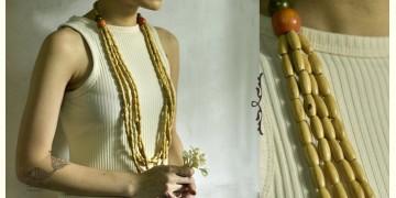 Indrani . इंद्राणी | Wooden Beads Necklace ~ 18