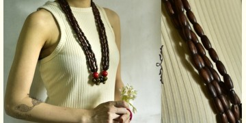 Indrani . इंद्राणी | Wooden Beads Necklace ~ 20
