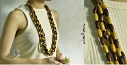 Indrani . इंद्राणी | Wooden Beads Necklace ~ 21
