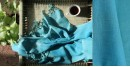buy online handwoven Sky Blue cotton stole