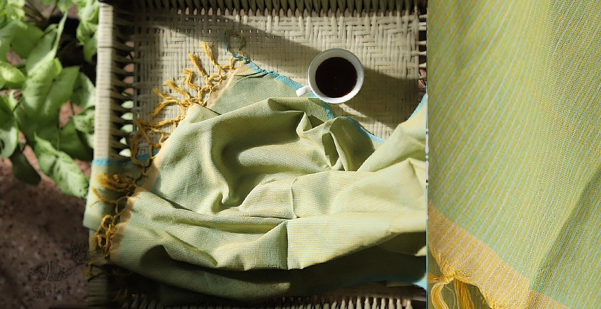 Kilmora  ✜ Handloom Cotton Stole ✜ 7