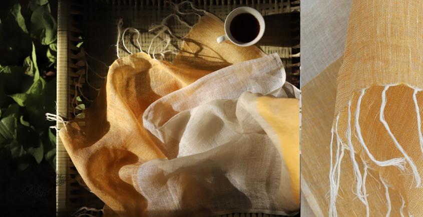 Kilmora  ✜ Handloom Linen Stole ✜ 22