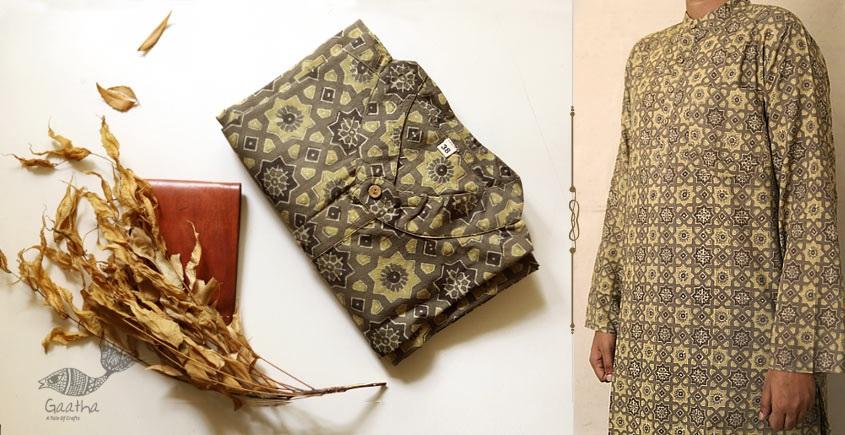 Buy Traditional block printed men kurta