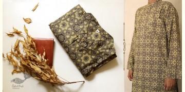Advay : अद्वय    Ajrakh printed - Cotton long kurta - 5