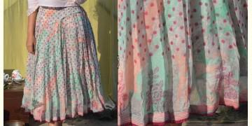 Gulshan ✿ Block Printed Polka Skirt ✿ 1