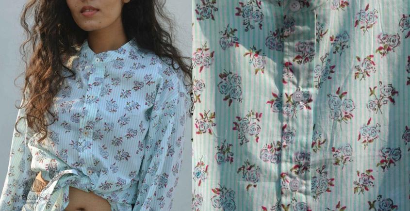 Gulshan ✿ Block Printed Shirt ✿ 2