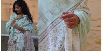 Gulshan ✿ Block Printed Woolen Shawl ~ 2