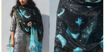 Gulshan ✿ Georgette Clamp Dyed & Hand Embroidered Dupatta ✿ 3