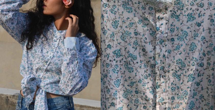 Gulshan ✿ Block Printed Shirt ✿ 3