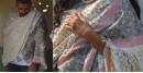 shop woolen shawl - block printed unisex shawl