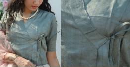Gulshan ✿ Tussar Silk Blouse / Crop Top ✿ 4