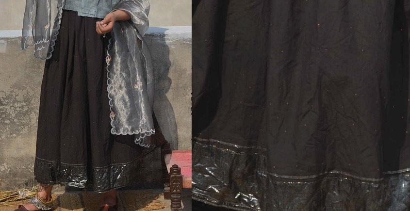 Gulshan ✿ Zari Gota Skirt ✿ 4