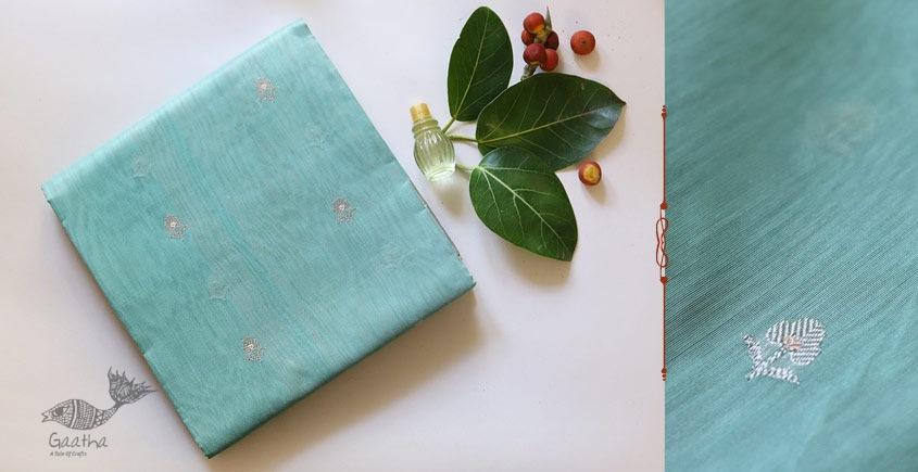 Bodhita ⚛ Handloom Chanderi  Eknaliya Embroidery Saree ⚛ 15