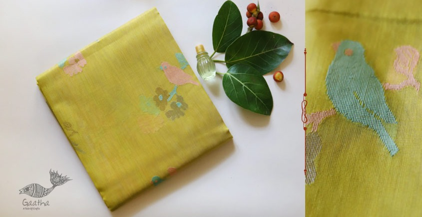 handloom beautiful chanderi zari saree