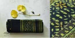 पलक ⚛ Dabu Printed . Embroidered Maheshwari  Saree ⚛ 12