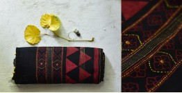 पलक ⚛ Dabu Printed . Embroidered Maheshwari  Saree ⚛ 14
