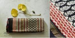 पलक ⚛ Dabu Printed . Embroidered Chanderi Saree ⚛ 4