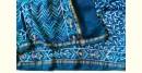 पलक ⚛ Dabu Printed . Embroidered Chanderi Saree ⚛ 3