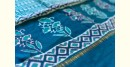 chanderi Saree with embroidery - Block Printed -beautiful color combination