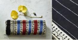 पलक ⚛ Dabu Printed . Embroidered Chanderi Saree ⚛ 9