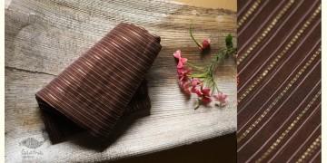 Manjula - Handloom Chanderi Stripe Saree - 14