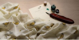 Izhaar   इज़हार ☙ Angora Woolen Printed Stole ☙ 18