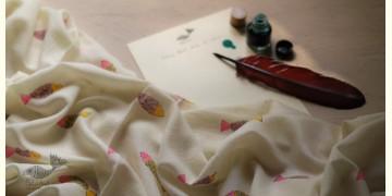 Izhaar | इज़हार ☙ Angora Woolen Printed Stole ☙ 4