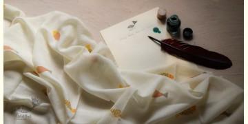 Izhaar | इज़हार ☙ Angora Woolen Printed Stole ☙ 5