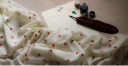 Izhaar   इज़हार ☙ Angora Woolen Printed Stole ☙ 7