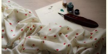 इज़हार ☙ Angora Woolen Printed Stole ☙ 7