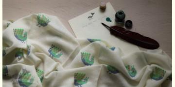 Izhaar | इज़हार ☙ Angora Woolen Printed Stole ☙ 30