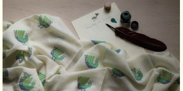 इज़हार ☙ Angora Woolen Printed Stole ☙ 30
