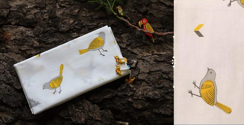 निसर्ग ☙ Cotton Stole (Printed) ☙ 6