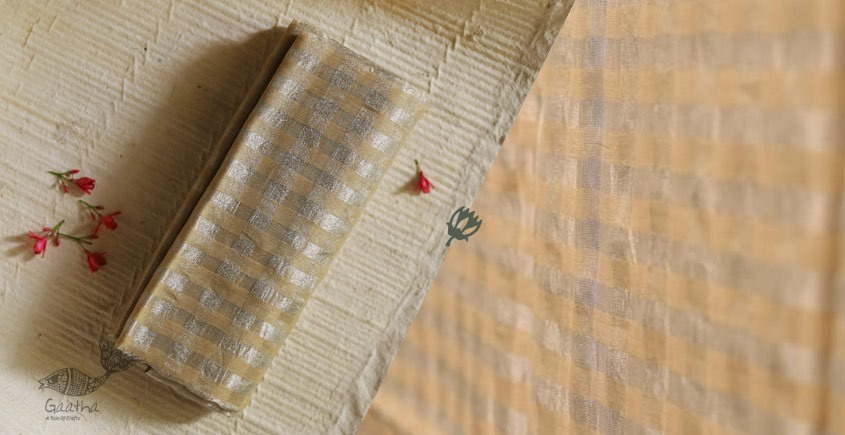 मधुमिता ♠ Chanderi Textured Dupatta  ♠ 7