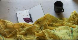 Vishwa ❤ Angora Wool ❤ Printed Stole ~ 14
