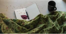 Vishwa ❤ Angora Wool ❤ Printed Stole ~ 9