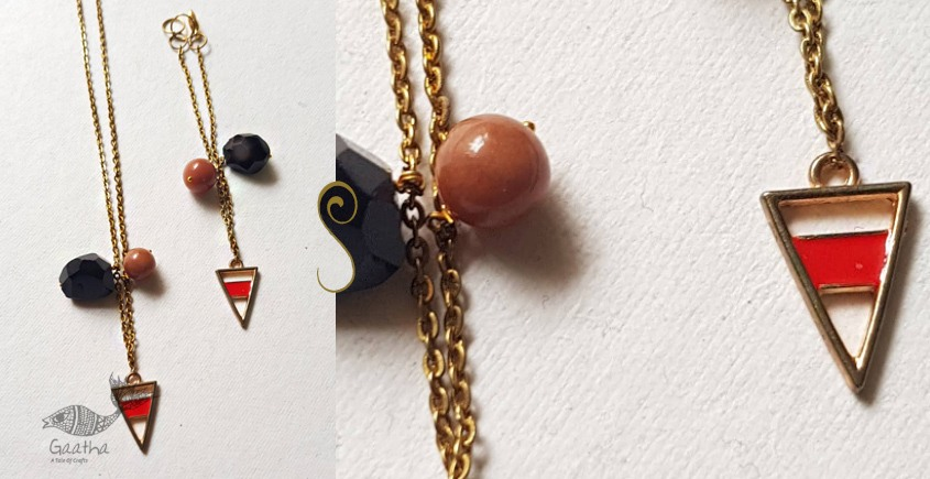 Amber ✺ Stone Jewelry ✺ Necklace ( Set of Two ) 13