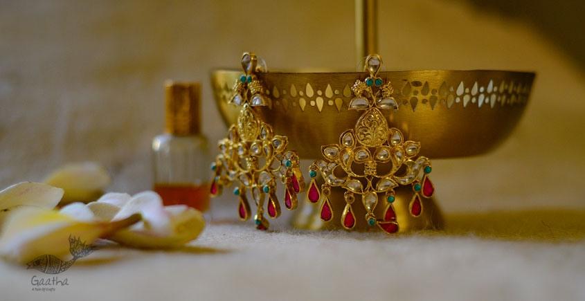 श्रीरूपा  | Silver Earring | Baalam ~ 33