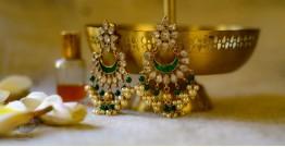 श्रीरूपा  | Silver Earring | Chandni ~ 27