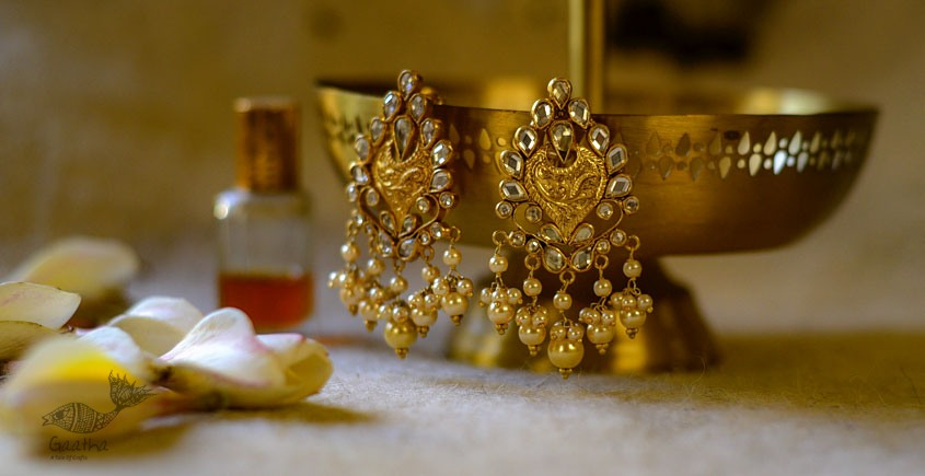 श्रीरूपा    Silver Earring   Dilkash ~ 25