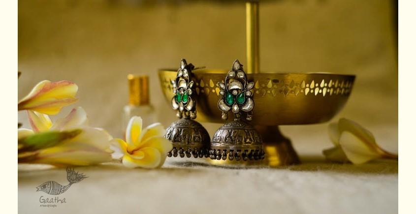 श्रीरूपा    Silver Earring   Hara Haathi ~ 45