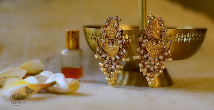 श्रीरूपा    Silver Earring   Jharmar ~ 36