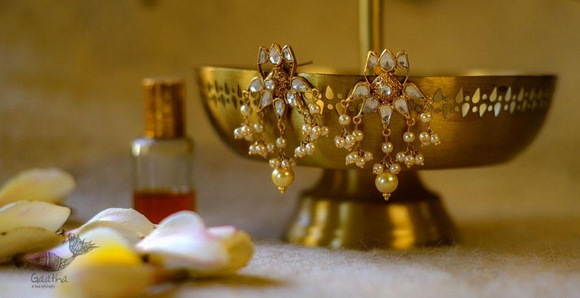 श्रीरूपा  | Silver Earring | Kamal ~ 20