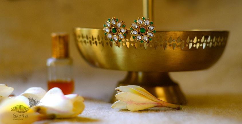 श्रीरूपा    Silver Earring   Lilavati ~ 10