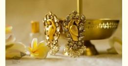 श्रीरूपा  | Silver Earring | Morni Studs ~ 47