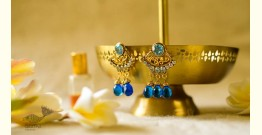 श्रीरूपा  | Silver Earring | Neelam~ 40